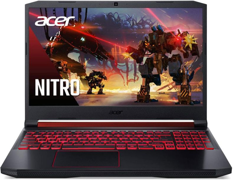 "Acer Nitro 5 Gaming Laptop, 9th Gen Intel Core i7-9750H, NVIDIA GeForce RTX 2060, 15.6"" Full HD IPS 144Hz Display, 16GB DDR4, 256GB NVMe SSD, Wi-Fi 6, Waves MaxxAudio, Backlit Keyboard, AN515-54-728C"