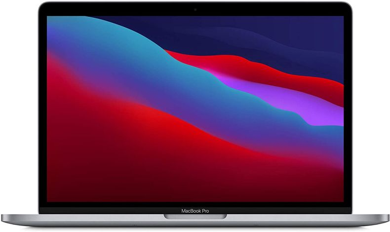 New Apple MacBook Pro with Apple M1 Chip (13-inch, 8GB RAM, 512GB SSD Storage) - Space Gray (Latest Model)