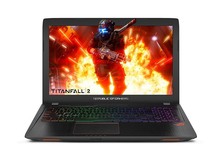 "ASUS ROG Strix GL553VE 15.6"" Gaming Laptop GTX 1050Ti 4GB Intel Core i7-7700HQ 16GB DDR4 256GB SSD + 1TB 7200RPM HDD RGB Keyboard"