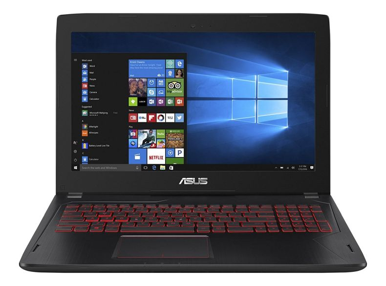 "ASUS FX502VM Select Edition (i7-7700HQ, 24GB RAM, 1TB NVMe SSD + 1TB HDD, NVIDIA GTX 1060 3GB, 15.6"" Full HD, Windows 10) Gaming Notebook"