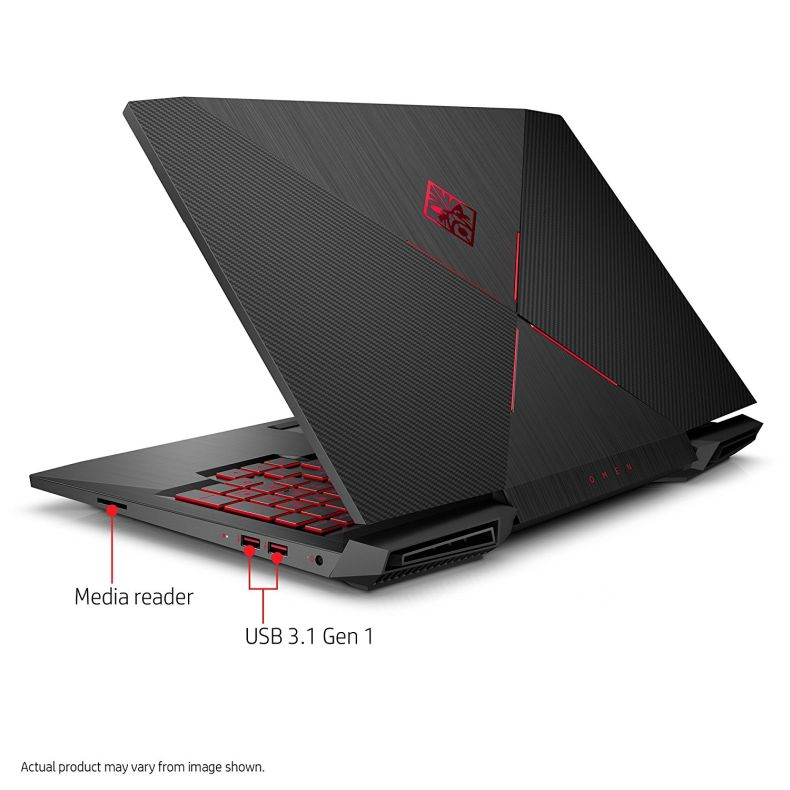 "HP OMEN 15-CE011DX 15.6"" Gaming Laptop, Intel Core i7-7700HQ/2.80G Quad-Core, 1TB 7200RPM MR, 8GB, 802.11ac, BT, WEBCAM NVIDIA-GEFORCEGTX1050, W10H 64-Bit (Certified Refurbished)"