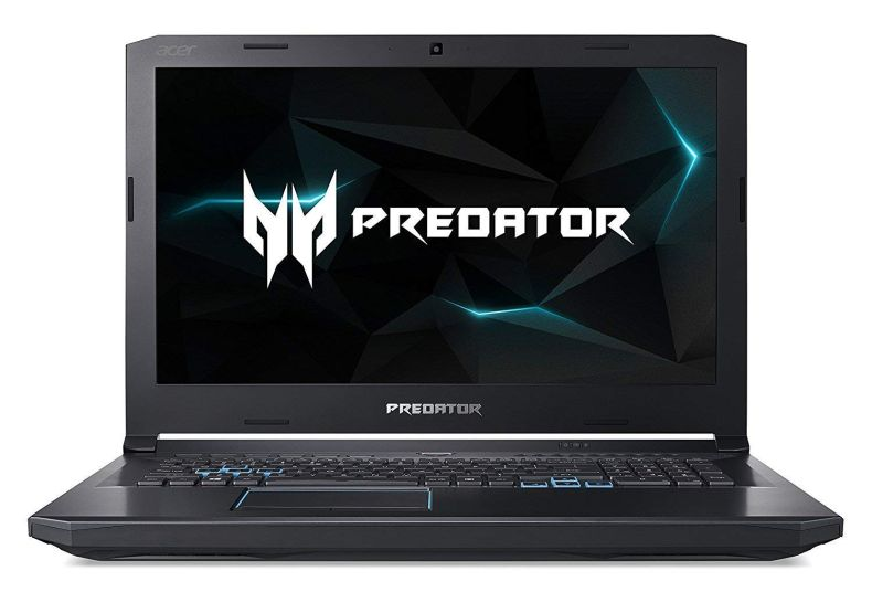 "Acer Predator Helios 500 PH517-51-98Y7 Gaming Laptop, Intel Core i9-8950HK, GeForce GTX 1070 Overclockable Graphics, 17.3"" Full HD 144Hz G-Sync Display, 16GB DDR4, 512GB PCIe NVMe SSD, 2TB HDD"