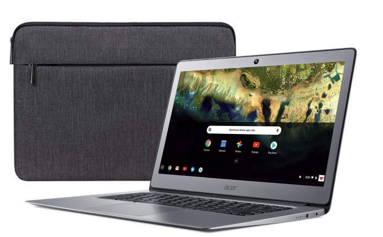 "Acer Chromebook 14, Celeron N3160, 14"" Full HD, 4GB LPDDR3, 16GB eMMC, CB3-431-C9W7 Bundle"