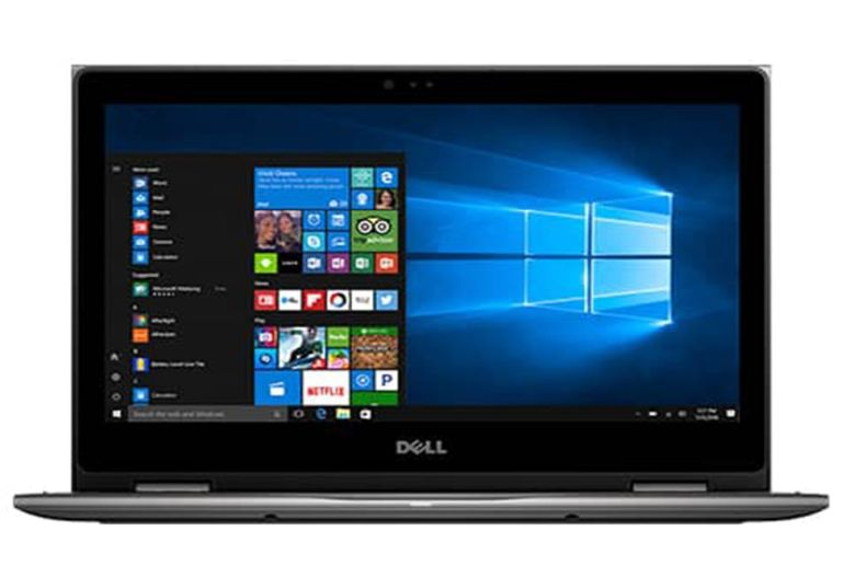 "Dell Inspiron 15.6"" 2 in 1 Full HD 1920x1080 Touchscreen Laptop PC Intel Core i5-7200U Processor 8GB DDR4 RAM 1TB HDD 802.11AC Wifi Backlit Keyboard Bluetooth Webcam HDMI Windows 10-Gray"