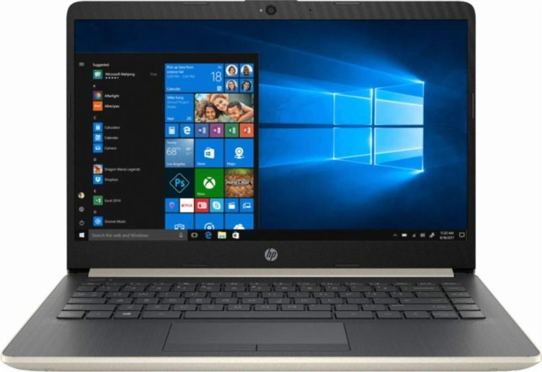 HP 2019 Newest Premium Flagship Pavilion 14 Inch Laptop (Intel Core i3-7100U 2.4 GHz, 8GB/12GB/16GB RAM, 128GB to 1TB SSD, 1TB/2TB HHD, 802.11b/g/n, Bluetooth, HDMI, USB Type-C, Windows 10)