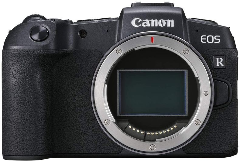 """Canon EOS RP Full Frame Mirrorless Vlogging Portable Digital Camera with 26.2MP Full-Frame CMOS Sensor, Wi-Fi , Bluetooth, 4K Video Recording and 3.0"""" Vari-angle Touch LCD Screen, Body, Black,"""