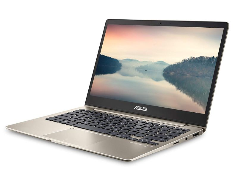 "ASUS ZenBook 13 Ultra-Slim Laptop 13.3"" FHD Display, Intel 8th gen Core i5-8250U, 8GB RAM, 256GB M.2 SSD, Win10, Backlit KB, FP, Icicle Gold, UX331UA-AS51"