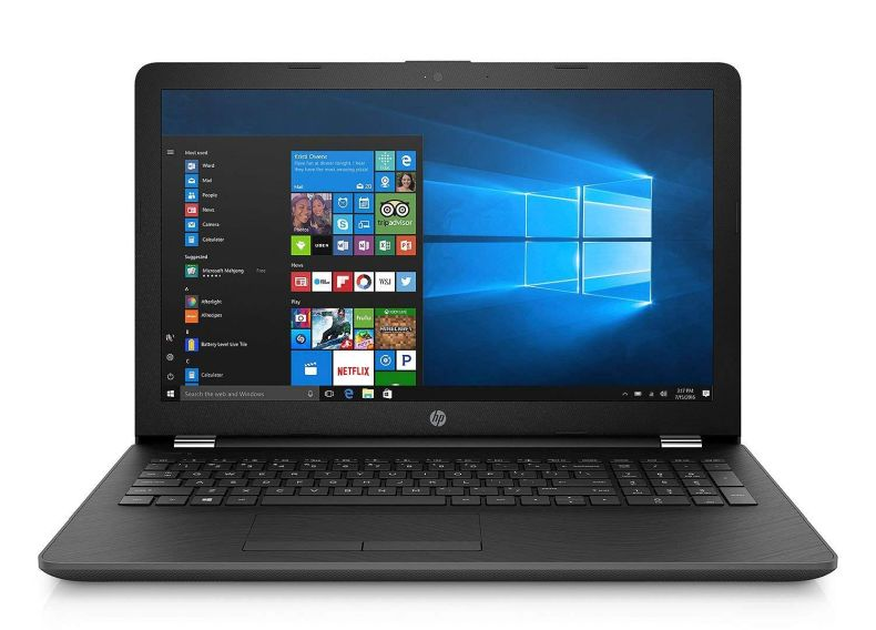2018 HP 15.6 Inch Premium Flagship Laptop Computer (Intel Core i5-8250U (>i7-7500U) 1.6GHz, HD Dual Speakers, Intel UHD Graphics 620, HD Webcam, Windows 10) Black, Choose Your RAM and SSD