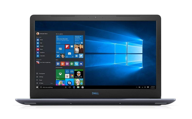 2018 Premium Dell G3 15 G3579 15.6 Inch FHD Gaming Laptop (Intel Core i5-8300H 2.3GHz up to 4.0 GHz, Nvidia GTX 1050Ti 4GB, Backlit Keyboard, Bluetooth, WiFi, Windows 10) Choose Your RAM and SSD