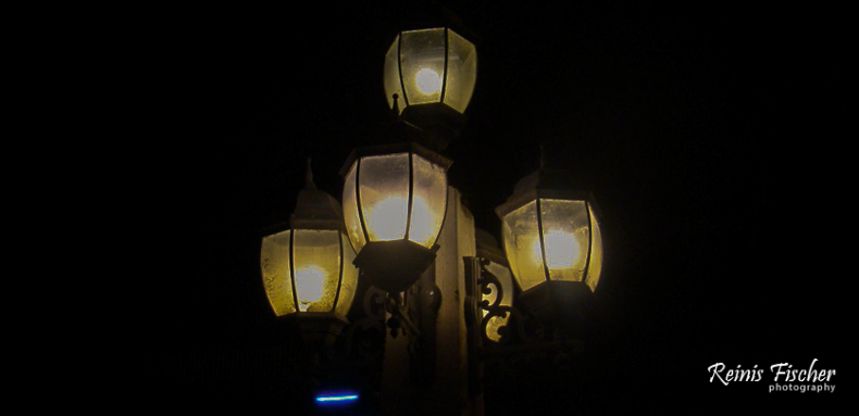 Lantern on Mtkvari embankment