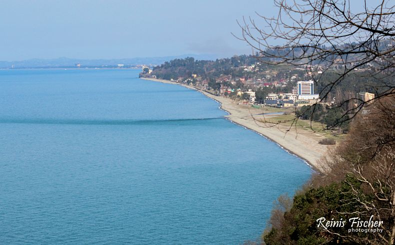 View towards Kobuleti