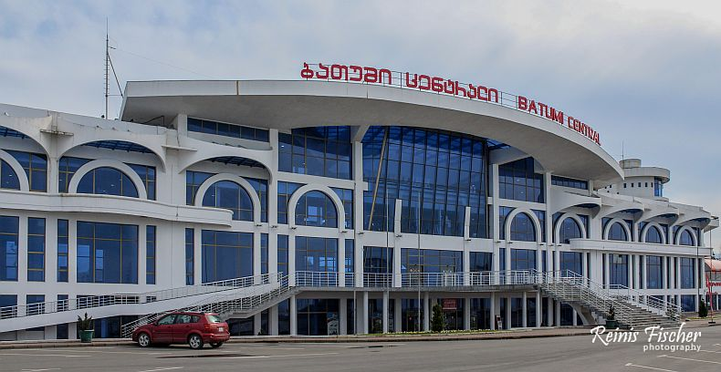 Newly constructed Batumi Railway Station