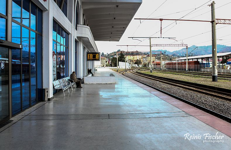 Peron at Batumi Railway station