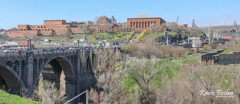 Panoramic view of Yerevan