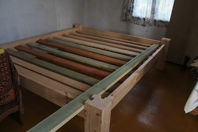 Bed frame completed