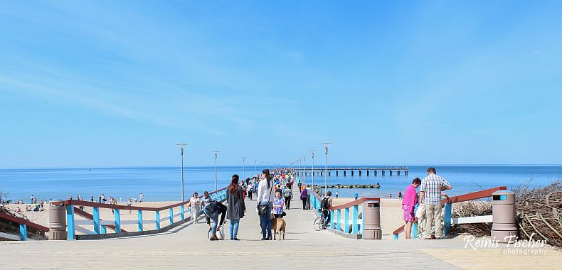 Sea bridge in Palanga