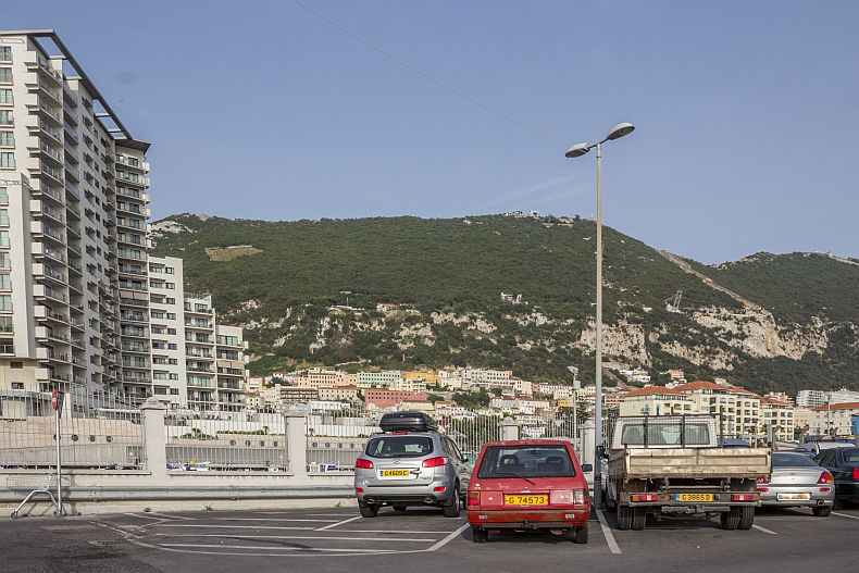 Construction works in Gibraltar
