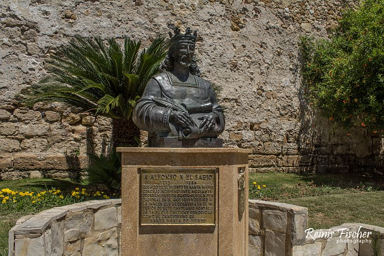 Statue of Alfonso X of Castile