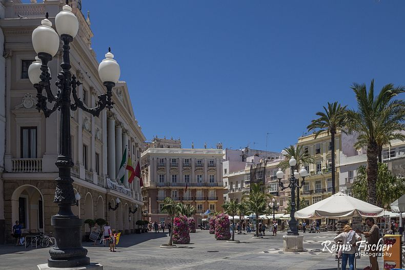 Square in Cadiz