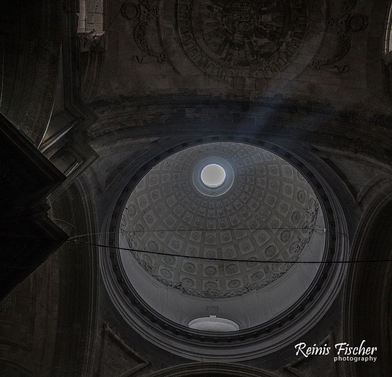 Dome at Cadiz cathedral