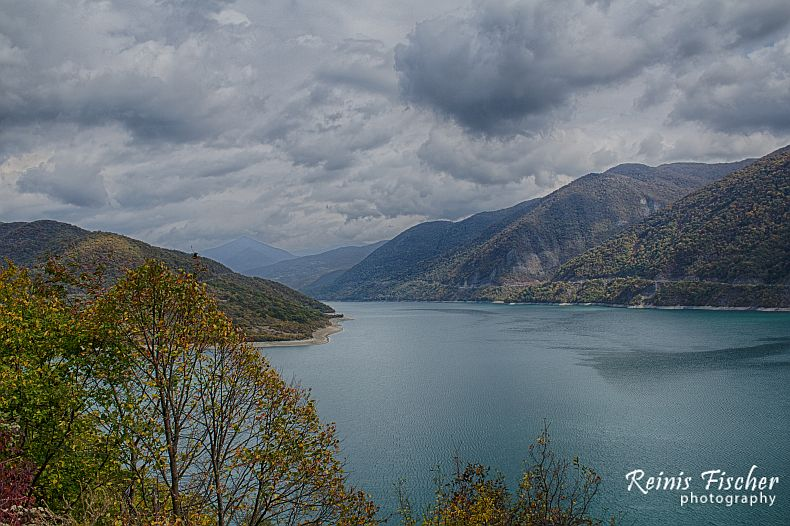 Zhinvali water reservoir