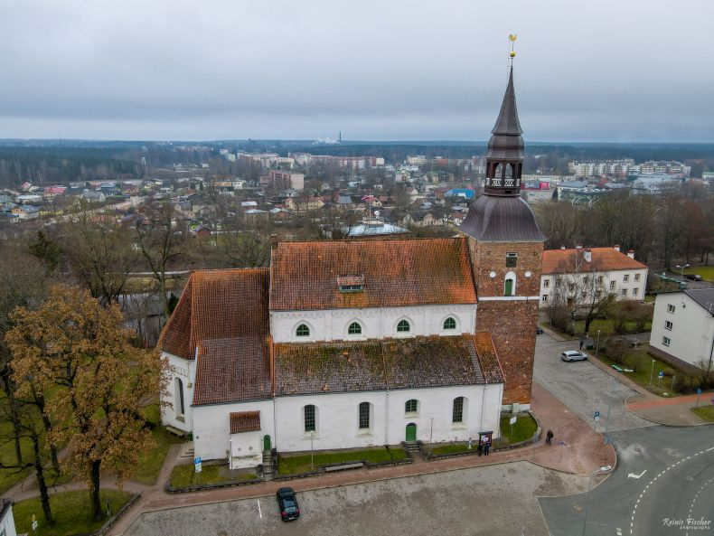 Saint Simon's Church in Valmiera