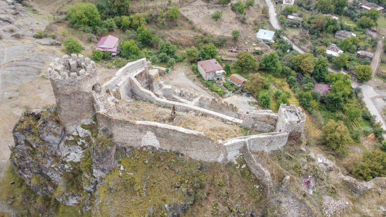 Reconstruction works at Atskuri fortress