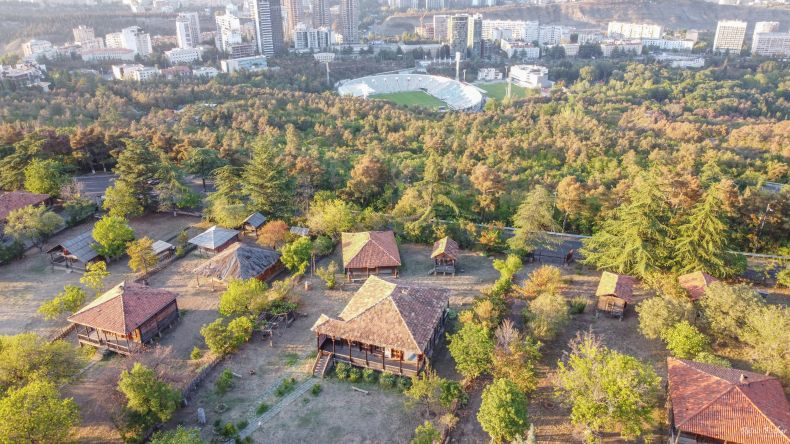 Open air museum in Tbilisi