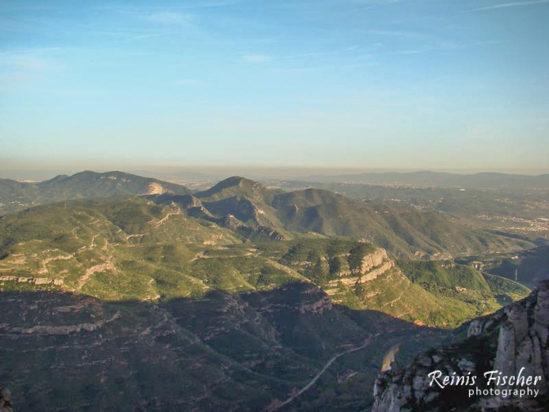 View from mount Montserrat