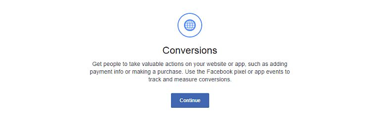 Facebook conversions ads