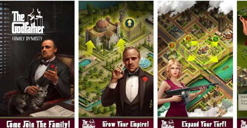 The Godfather mobile game for Android's and iPhone's