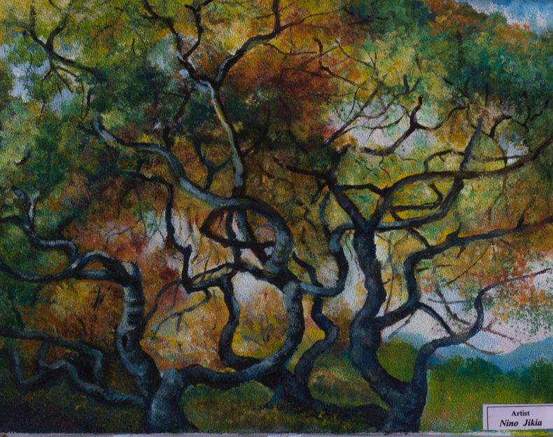 Painting of trees
