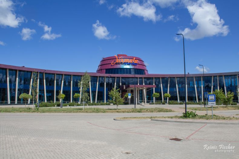Main Terminal building at Jūrmala airport