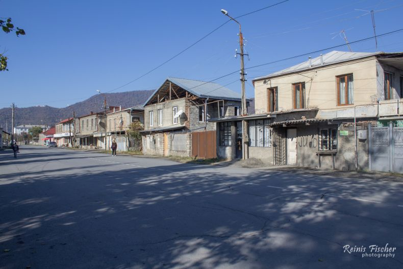 Street in Kvareli
