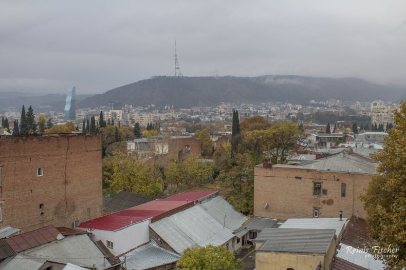 Rainy day in Tbilisi