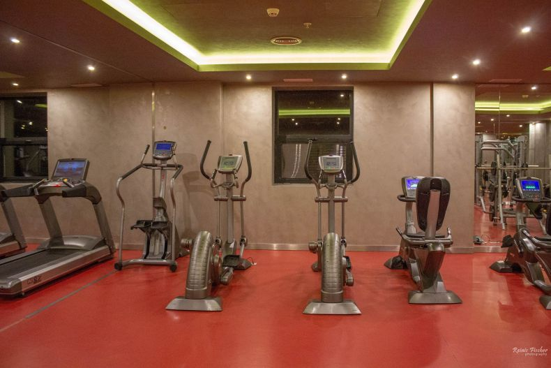 Small gym at Hotel Borjomi Likani