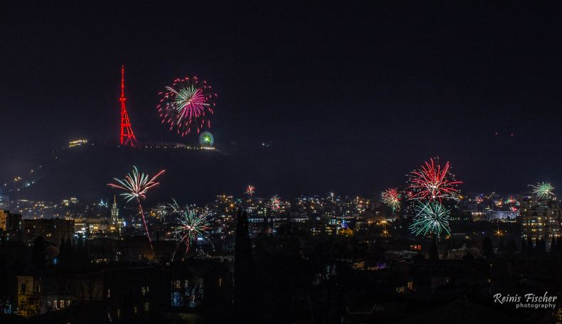 Old New Year's fireworks 2019