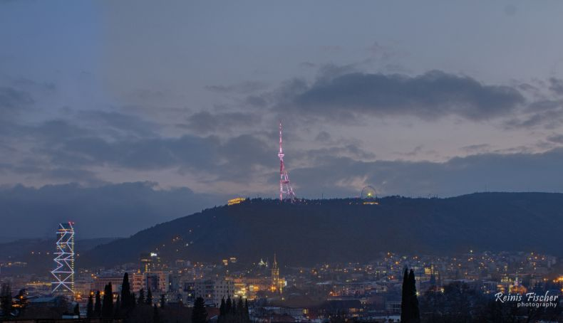 HDR photo from Tbilisi