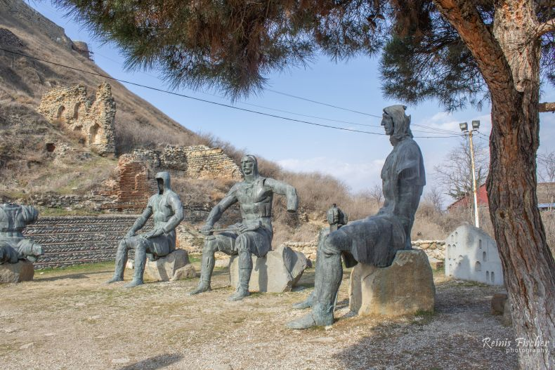 the Memorial of Georgian Warrior Heroes
