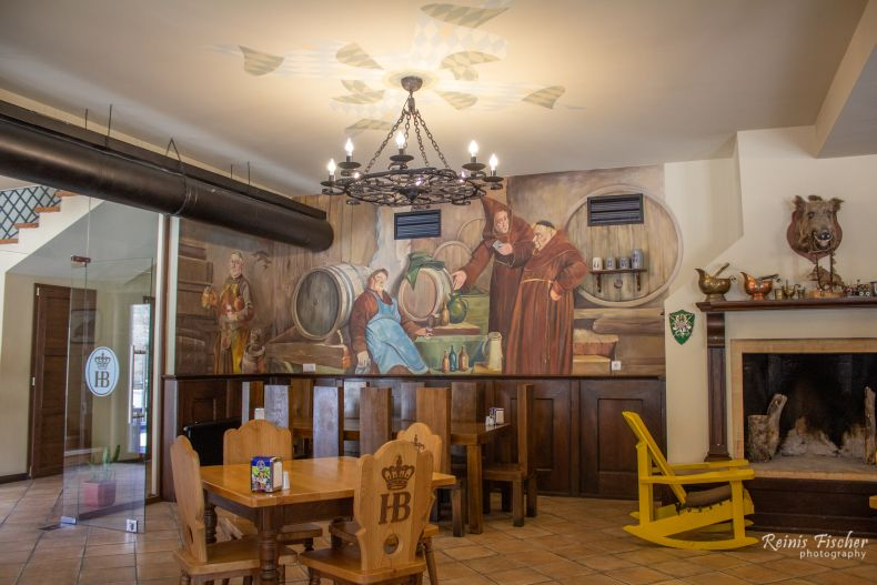 Interior at Hofbrau Munchen Gudauri