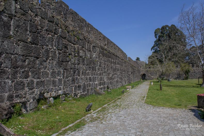 Fortification walls at Gonio Fortress