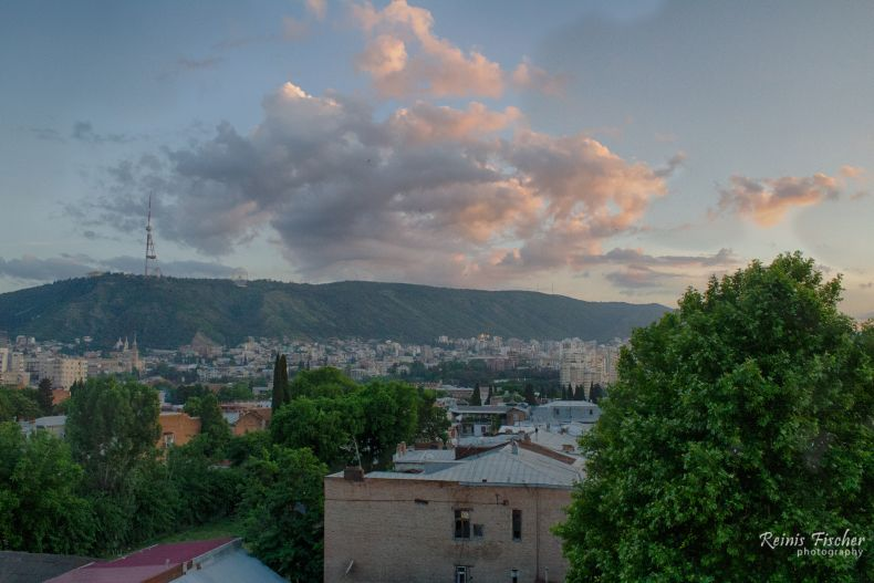 HDR clouds in Tbilisi