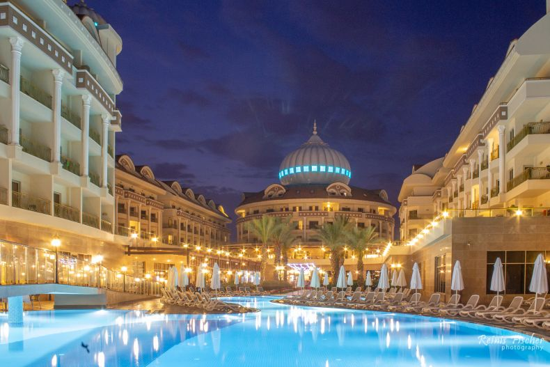 Kirman Belazur Resort & Spa hotel in Belek, Turkey