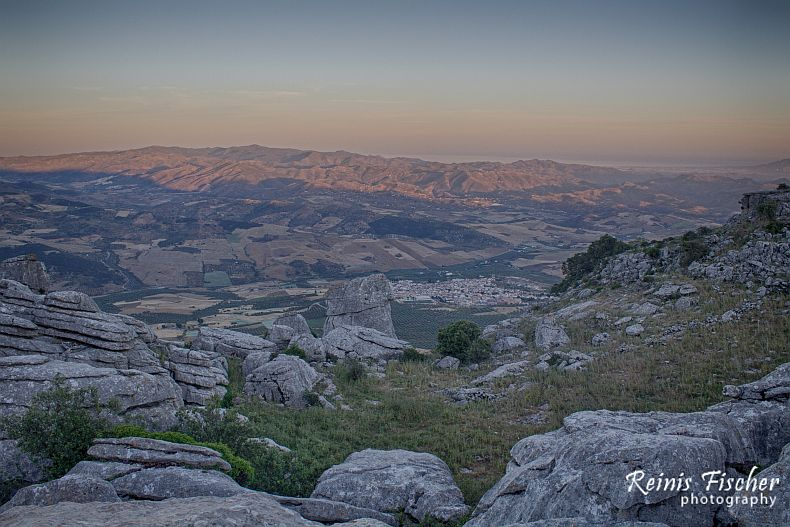 View towards  Antequera