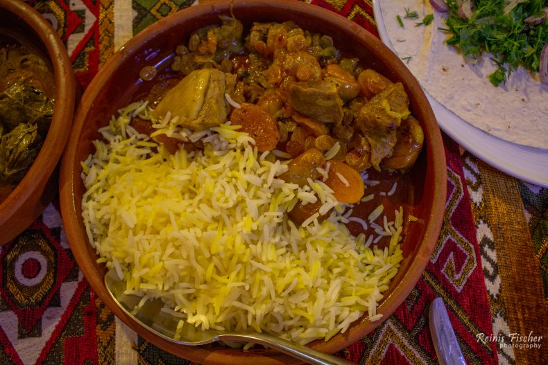 Traditional Azerbaijani pilaf