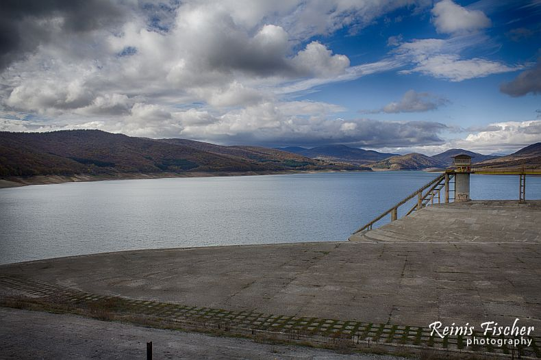 Sioni water reservoir in Georgia