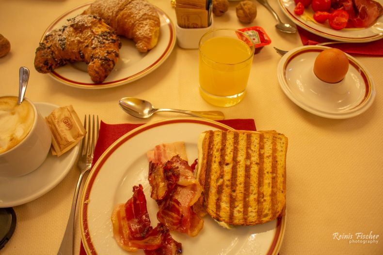 Breakfast at Grand Hotel Del Parco