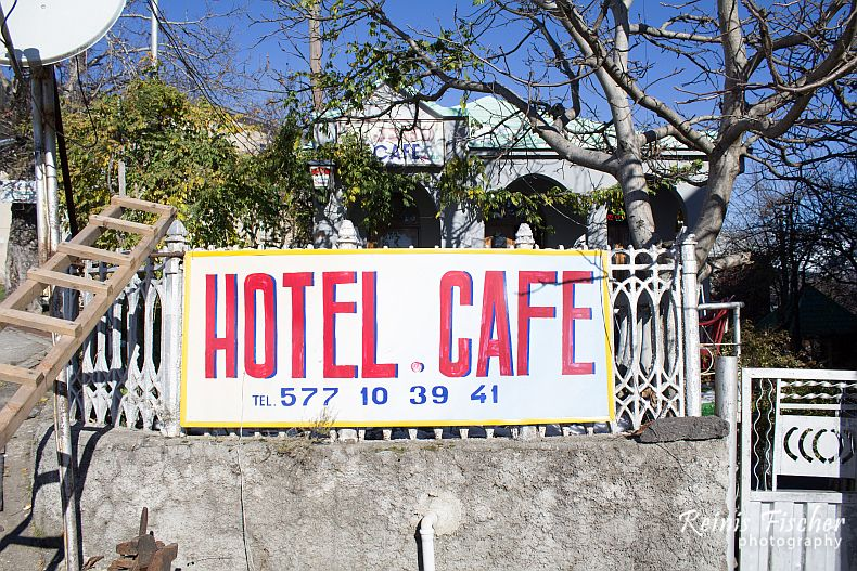 Hotel cafe in Khulo