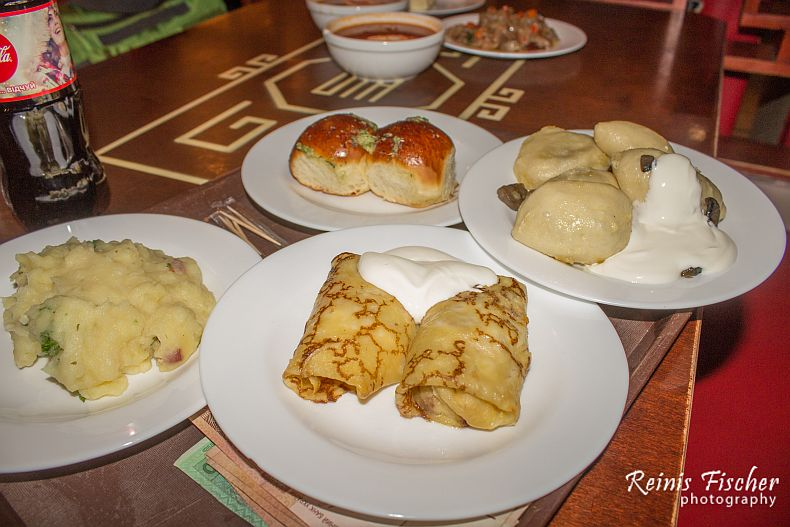 Ukrainian traditional cuisine