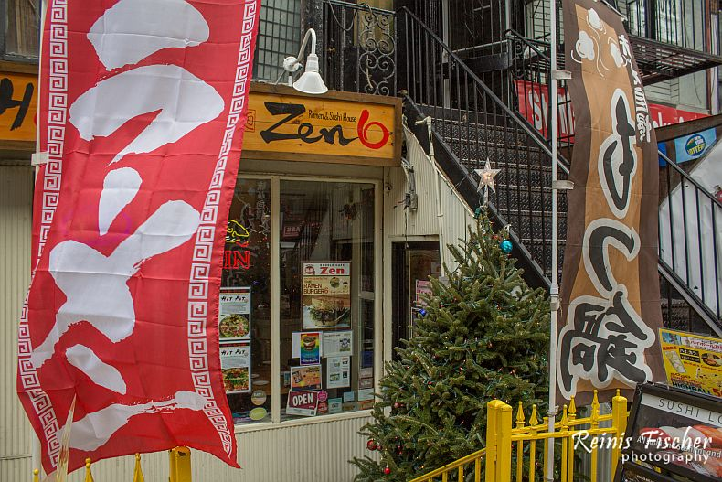 Zen Ramen and Sushi house in New York City